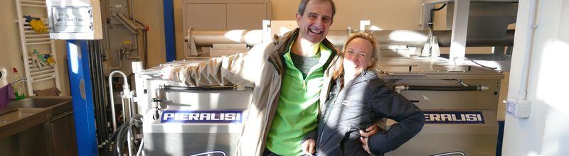 Bettina Lenz und Calvi